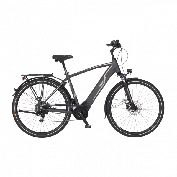 FISCHER Herren Trekking E-Bike VIATOR 5.0i - 418 Wh, 28 Zoll, RH 55 cm