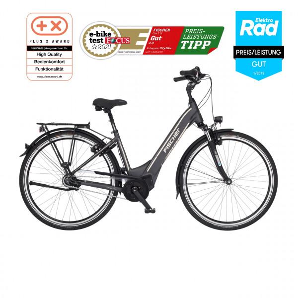 FISCHER City E-Bike CITA 5.0i - 418 Wh, 28 Zoll, RH 44 cm
