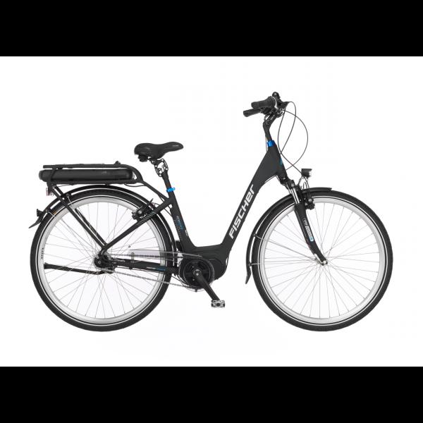 FISCHER ECU 2063 City E-Bike 28 Zoll RH 44 Schwarz MJ 2020 (B-Ware / Generalüberholt)