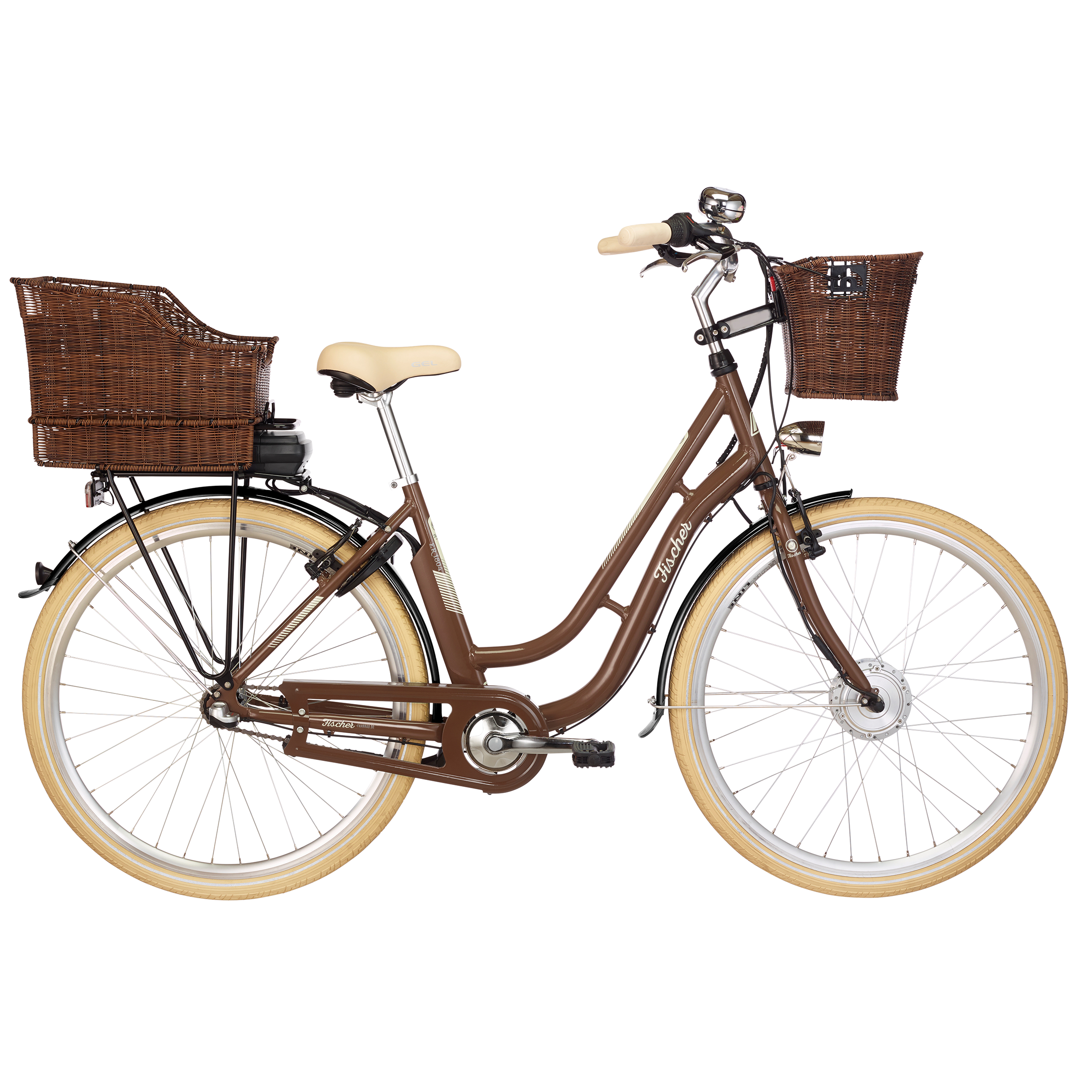 fischer er 1804 s2 damen city e bike nussbraun retro e bikes e bikes fischer fahrradshop. Black Bedroom Furniture Sets. Home Design Ideas