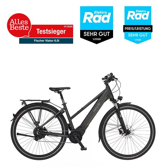 FISCHER VIATOR 6.0i Damen Trekking E-Bike RH 44