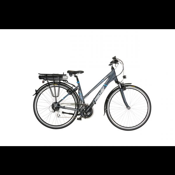 FISCHER Damen Trekking E-Bike ETD 1401 - 522 Wh, 28 Zoll, RH 46 cm (B-Ware / Generalüberholt)
