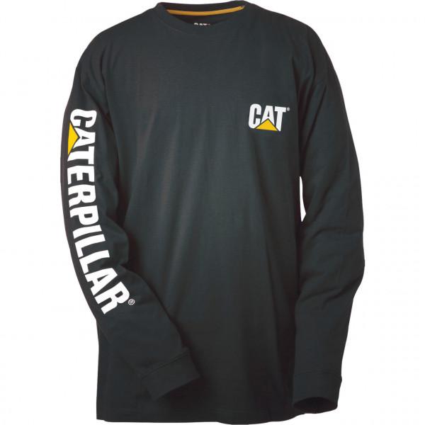 CAT Longsleeve schwarz XL