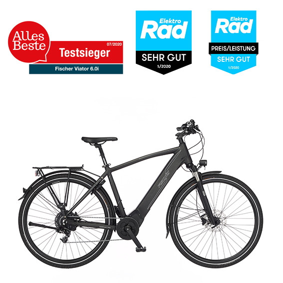 FISCHER VIATOR 6.0i Herren Trekking E-Bike RH 55